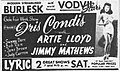 1951 - Lyric Theater - 20 Sepr MC - Allentown PA.jpg