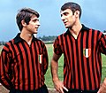 1968–69 Milan AC - Gianni Rivera and Pierino Prati.jpg