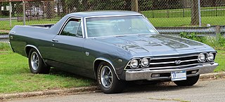 Chevrolet El Camino Motor vehicle