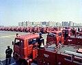 1977년 3월 서울특별시 영등포구 여의도광장 최초 국산소방차 인수식08.jpg