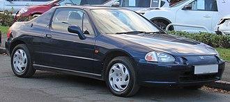 Honda CR-X del Sol - Image: 1997 Honda Civic CR X E Si 1.6 Front