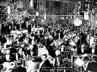 1st Academy Awards - The first Academy Awards was at The Hollywood Roosevelt Hotel.