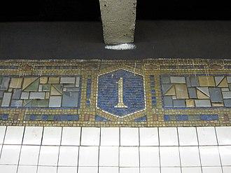 First Avenue (BMT Canarsie Line) - Image: 1st Avenue BMT IMG 9162