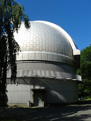 Ondřejov Observatory - Image: 2 m telescope dome (Ondřejov observatory)