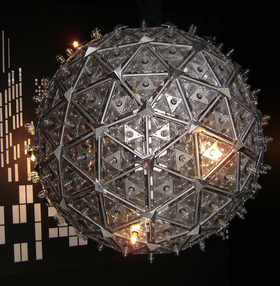 2000 times square ball at waterford