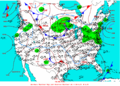 2003-02-18 Surface Weather Map NOAA.png