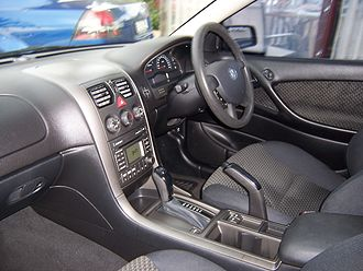 Holden Commodore (VY) - Interior