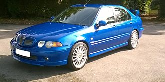 MG ZS - 2003 MG ZS 180 saloon