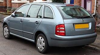 Škoda Fabia - Combi (pre-facelift)