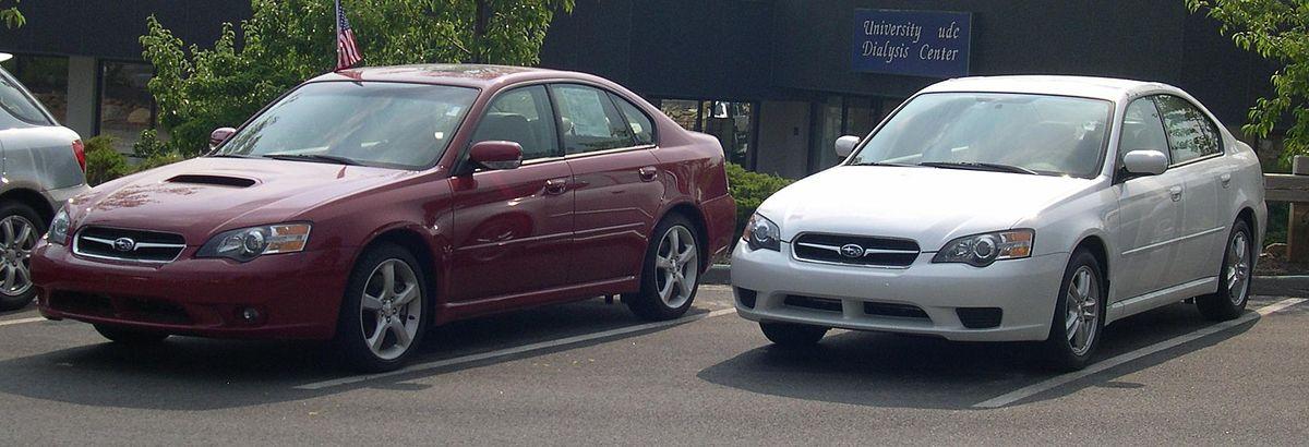 Subaru Legacy – Wikipédia, a enciclopédia livre