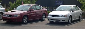 2005 Subaru Legacy GT and Base.jpg