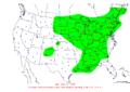 2008-04-12 24-hr Precipitation Map NOAA.png