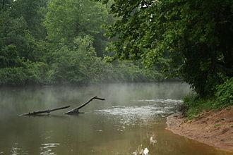 Eno River - The Eno River near Falls Lake