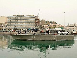 Greek <i>Tjeld</i>-type patrol boat