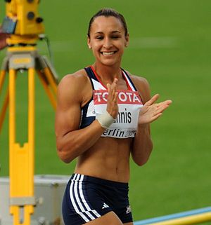 2009 World Championships in Athletics – Women's heptathlon - Jessica Ennis also had the world-leading mark before the Championships