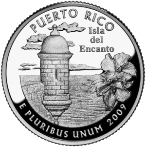 District of Columbia and United States Territories Quarters - Puerto Rico quarter