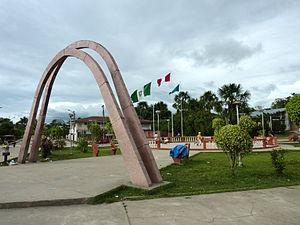 Indiana, Peru - Main plaza in Indiana.