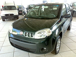 Fiat Automobiles - Fiat Uno, specifically developed for Brazilian market