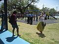 2010UptownIndians-PlaygroundPolice.JPG