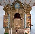 20111006335DR Liebenau (Altenberg) Dorfkirche Zu den 12 Aposteln Altar.jpg
