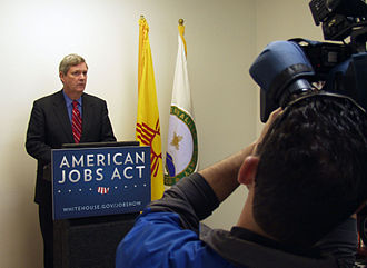 American Jobs Act - Agriculture Secretary Tom Vilsack speaking on behalf of the American Jobs Act in Albuquerque, New Mexico, December 8, 2011