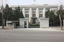 List Of Diplomatic Missions In North Korea Wikipedia - Korea us embassy map