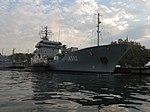 2013-08-29 Севастополь. Вспомогательное судно A512 Mosel ВМС Германии (11).JPG