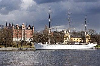 Af Chapman (ship) - Image: 20130430 Af Chapman Stockholm 3329