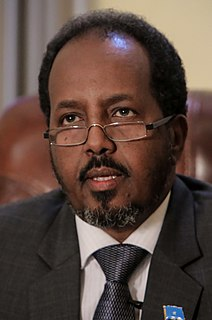Hassan Sheikh Mohamud President of Somalia; PDP Chairman; educator; civic, academic, and political activist