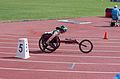 2013 IPC Athletics World Championships - 26072013 - Angela Ballard of Australia during the Women's 400M - T53 first semifinal 11.jpg