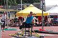 2013 IPC Athletics World Championships - 26072013 - Jamil Elshebli of Jordan during the Men's Shot put - F56-57 11.jpg