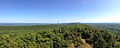 2014-08-25 11 18 15 Panorama north and east from Catfish Fire Tower along the Appalachian Trail in Delaware Water Gap National Recreation Area, New Jersey.JPG