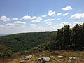 2014-08-25 14 14 00 View south from Mount Mohican along the Appalachian Trail in Worthington State Forest, New Jersey.JPG