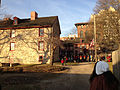2014-12-27 15 42 00 Reenactors assembling in front of the Old Barracks after a reenactment of the Second Battle of Trenton in Trenton, New Jersey.JPG