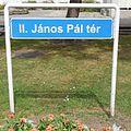 2014.06.20 Ungarn, Györ, Johannes Paul II. Platz.JPG
