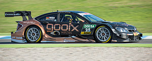 Pascal Wehrlein - Wehrlein competing in the 2014 DTM season.