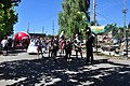 2014 Fremont Solstice parade - Yes Ma'am Brass Band 02 (14509642042).jpg