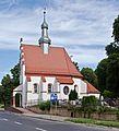 2014 Nysa, Kościół cmentarny Świętego Krzyża 02.JPG