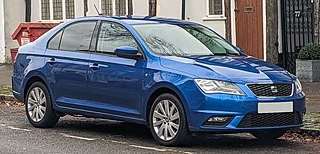SEAT Toledo Small family car produced by the Spanish manufacturer SEAT