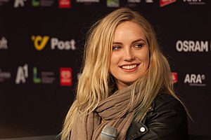 Ireland in the Eurovision Song Contest 2015 - Molly Sterling at a press meet and greet