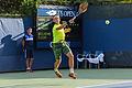 2015 US Open Tennis - Qualies - Guilherme Clezar (BRA) def. Nicolas Almagro (ESP) (12) (20529712314).jpg