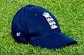 2017–18 W Ashes A v E Test 17-11-11 Ecclestone's cap (01).jpg