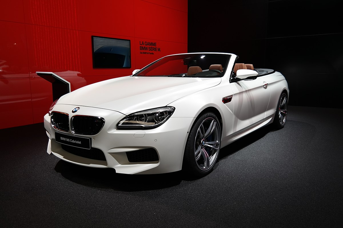 2 Door Convertible >> BMW M6 - Wikipedia