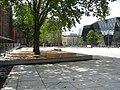 2017-07-28, Platz der Alten Synagoge in Freiburg, fertiggestellt aber noch nicht freigegeben 2.jpg