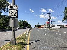 U.S. Route 22 in New Jersey - Wikipedia on route 91 map, route 15 map, route 8 map, route 9 map, route 33 map, route 80 map, route 20 map, freeway 22 map, route 5 map, route 44 map, route 11 map, route 1 map, route 27 map, route 6 map, route 23 map, route 12 map, n's castle map, route 18 map, route 2 map, route 17 map,