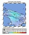 2018-12-16 Abepura, Indonesia M6.1 earthquake shakemap (USGS).jpg