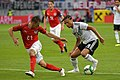 20180602 FIFA Friendly Match Austria vs. Germany Lainer Sané 850 0881.jpg