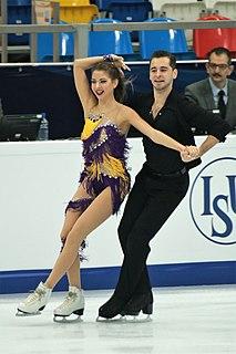 Maxim Nikitin Ukrainian ice dancer