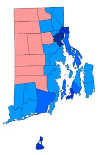 Blue: Whitehouse (D); Red: Flanders (R)