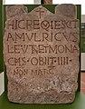 2018 Rheinisches Landesmuseum Trier, frühchristlicher Grabstein 1.jpg
